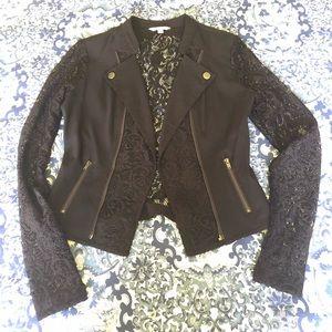 Candie's size S lace blazer